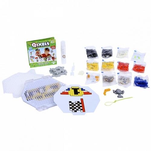 Qixels Набор для творчества Гонки Бишкек и Ош купить в магазине игрушек LEMUR.KG доставка по всему Кыргызстану