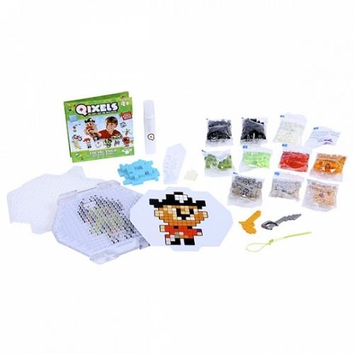 Qixels Набор для творчества Пираты Бишкек и Ош купить в магазине игрушек LEMUR.KG доставка по всему Кыргызстану