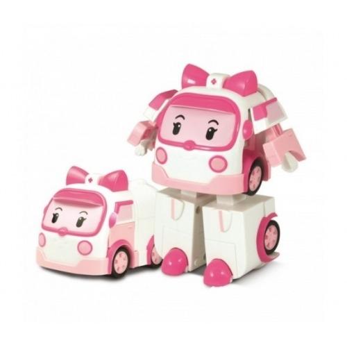 'Робокар Поли' Эмбер трансформер (7,5 см) Бишкек и Ош купить в магазине игрушек LEMUR.KG доставка по всему Кыргызстану