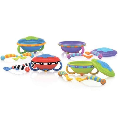 NUBY Тарелка НЛО Бишкек и Ош купить в магазине игрушек LEMUR.KG доставка по всему Кыргызстану