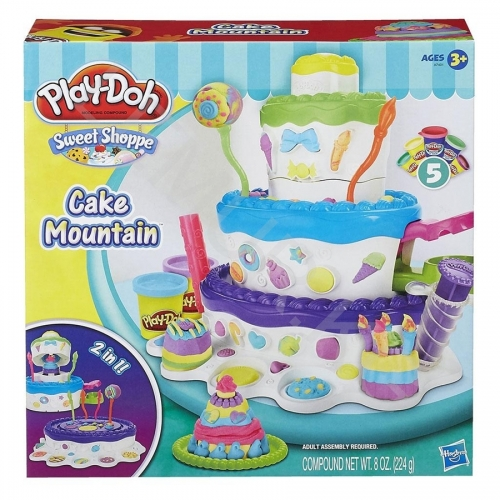 Игровой Play-Doh 'Праздничный торт - новая версия' Бишкек и Ош купить в магазине игрушек LEMUR.KG доставка по всему Кыргызстану
