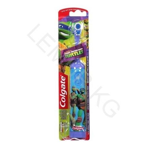 Детская электрическая зубная щетка Colgate Черепашки Ниндзя Бишкек и Ош купить в магазине игрушек LEMUR.KG доставка по всему Кыргызстану
