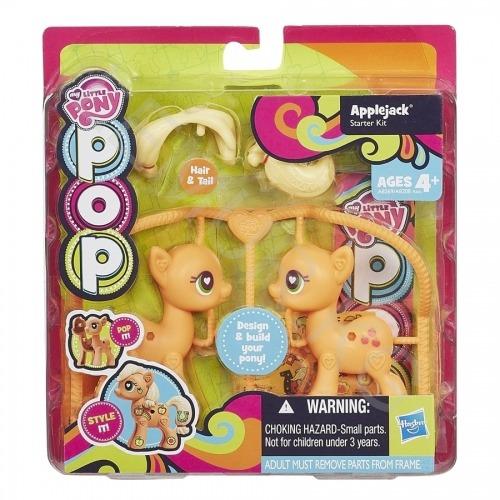 Игровой My Little Pony Эпплджек из серии 'Создай свою пони' Бишкек и Ош купить в магазине игрушек LEMUR.KG доставка по всему Кыргызстану