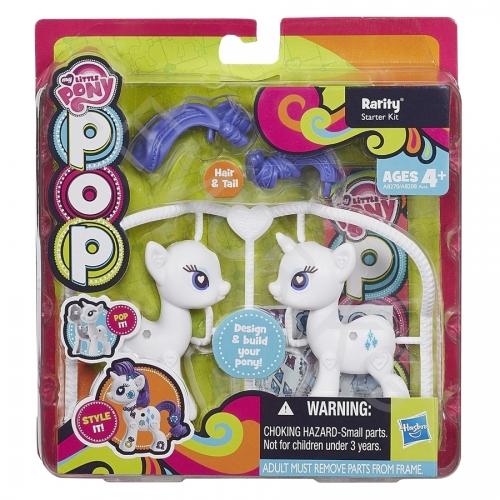 Игровой My Little Pony Рарити из серии 'Создай свою пони' Бишкек и Ош купить в магазине игрушек LEMUR.KG доставка по всему Кыргызстану