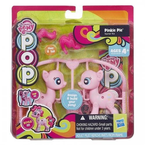 Игровой My Little Pony Пинки Пай из серии 'Создай свою пони' Бишкек и Ош купить в магазине игрушек LEMUR.KG доставка по всему Кыргызстану