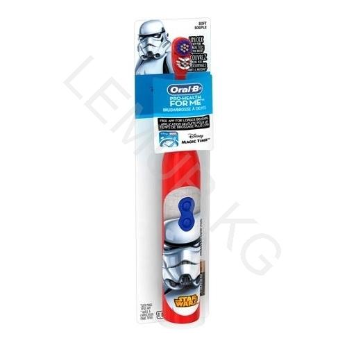 Детская электрическая зубная щетка Oral-B 'Health' Звездные войны Бишкек и Ош купить в магазине игрушек LEMUR.KG доставка по всему Кыргызстану