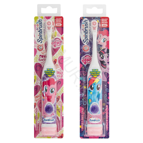 Детская электрическая зубная щетка SpinBrush 'Arm & Hammer' My Little Pony Бишкек и Ош купить в магазине игрушек LEMUR.KG доставка по всему Кыргызстану