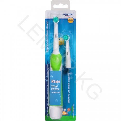 Детская электрическая зубная щетка Equate Kids Бишкек и Ош купить в магазине игрушек LEMUR.KG доставка по всему Кыргызстану