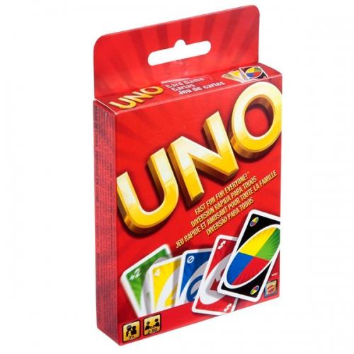 Настольная игра UNO дисплей Бишкек и Ош купить в магазине игрушек LEMUR.KG доставка по всему Кыргызстану