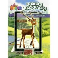 3D раскраска 'Волшебная долина' Бишкек и Ош купить в магазине игрушек LEMUR.KG доставка по всему Кыргызстану