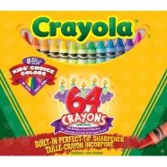 из 64 восковых мелков Crayola Бишкек и Ош купить в магазине игрушек LEMUR.KG доставка по всему Кыргызстану