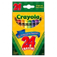 из 24 восковых мелков Crayola Бишкек и Ош купить в магазине игрушек LEMUR.KG доставка по всему Кыргызстану