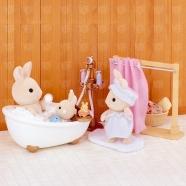 Sylvanian Families 'Ванная комната, мини' Бишкек и Ош купить в магазине игрушек LEMUR.KG доставка по всему Кыргызстану