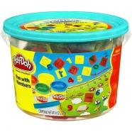 Игровой Play-Doh в ведерке Числа Бишкек и Ош купить в магазине игрушек LEMUR.KG доставка по всему Кыргызстану