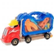 Игрушка Boley грузовик 'Смелый гонщик' с машинками Бишкек и Ош купить в магазине игрушек LEMUR.KG доставка по всему Кыргызстану