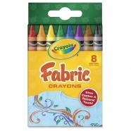 из 8 восковых мелков для рисования на ткани Crayola Бишкек и Ош купить в магазине игрушек LEMUR.KG доставка по всему Кыргызстану