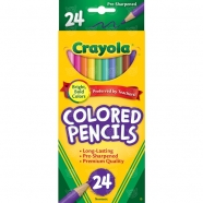 из 24 цветных карандашей Crayola Бишкек и Ош купить в магазине игрушек LEMUR.KG доставка по всему Кыргызстану