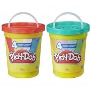Игровой набор Play-Doh Большая банка 4 цвета Бишкек и Ош купить в магазине игрушек LEMUR.KG доставка по всему Кыргызстану