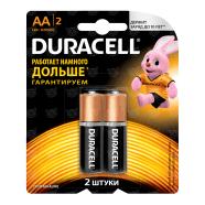 Батарейки Duracell Basic AA (2 шт.) Бишкек и Ош купить в магазине игрушек LEMUR.KG доставка по всему Кыргызстану
