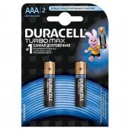 Батарейки Duracell Turbo Max AAА (2 шт.) Бишкек и Ош купить в магазине игрушек LEMUR.KG доставка по всему Кыргызстану