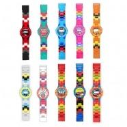 Часы-конструктор, совместимые с LEGO (в ассорт.) Бишкек и Ош купить в магазине игрушек LEMUR.KG доставка по всему Кыргызстану