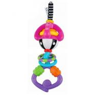 NUBY Прорезыватель-погремушка кольца Бишкек и Ош купить в магазине игрушек LEMUR.KG доставка по всему Кыргызстану