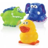 NUBY 'Забавный зоопарк' для купания Бишкек и Ош купить в магазине игрушек LEMUR.KG доставка по всему Кыргызстану