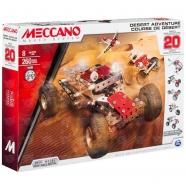 Meccano Набор приключения в пустыне (20 моделей) Бишкек и Ош купить в магазине игрушек LEMUR.KG доставка по всему Кыргызстану