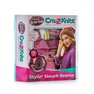 Cra-Z-Knitz Набор для вязания Стильная Шапка -колпак Бишкек и Ош купить в магазине игрушек LEMUR.KG доставка по всему Кыргызстану