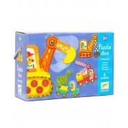 Djeco Пазл для малышей Машинки Бишкек и Ош купить в магазине игрушек LEMUR.KG доставка по всему Кыргызстану