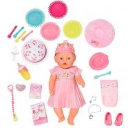 Baby Born Кукла Интерактивная Нарядная с тортом, 43 см Бишкек и Ош купить в магазине игрушек LEMUR.KG доставка по всему Кыргызстану