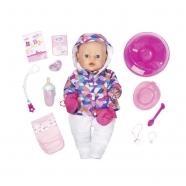 Baby Born Кукла Интерактивная Зимняя пора, 43 см Бишкек и Ош купить в магазине игрушек LEMUR.KG доставка по всему Кыргызстану