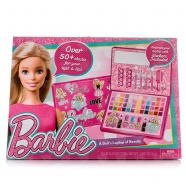 Большой набор детской косметики Барби в кейсе Бишкек и Ош купить в магазине игрушек LEMUR.KG доставка по всему Кыргызстану