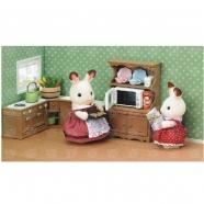 Sylvanian Families 'Буфет с микроволновой печью' Бишкек и Ош купить в магазине игрушек LEMUR.KG доставка по всему Кыргызстану