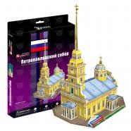 3D пазл Петропавловский собор (Россия) Бишкек и Ош купить в магазине игрушек LEMUR.KG доставка по всему Кыргызстану
