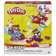 Игровой Play-Doh 'Транспортные средства героев Marvel' Бишкек и Ош купить в магазине игрушек LEMUR.KG доставка по всему Кыргызстану