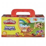 пластилина Play-Doh, 20 банок Бишкек и Ош купить в магазине игрушек LEMUR.KG доставка по всему Кыргызстану
