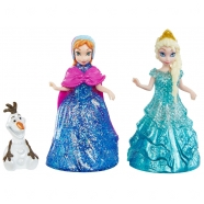 Игровой с мини-куклами 'Холодное сердце' Анна, Эльза и Олаф Бишкек и Ош купить в магазине игрушек LEMUR.KG доставка по всему Кыргызстану