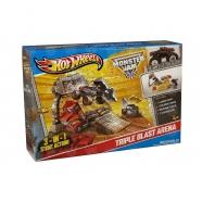 Hot Wheels Тройная арена и машинки-монстры из серии 'Monster Jam' Бишкек и Ош купить в магазине игрушек LEMUR.KG доставка по всему Кыргызстану