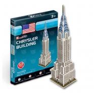 3D пазл Небоскреб Крайслер-билдинг (США) (мини серия) Бишкек и Ош купить в магазине игрушек LEMUR.KG доставка по всему Кыргызстану