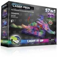 Laser Pegs: 57 в 1. Дракон с 3D панелью (обновленная версия) - 2362 Бишкек и Ош купить в магазине игрушек LEMUR.KG доставка по всему Кыргызстану