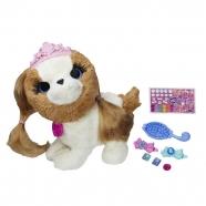 Интерактивная игрушка FurReal Friends 'Модные зверята' Бежево-коричневый щенок-принцесса Бишкек и Ош купить в магазине игрушек LEMUR.KG доставка по всему Кыргызстану
