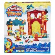 Игровой Play-Doh Город 'Пожарная станция' Бишкек и Ош купить в магазине игрушек LEMUR.KG доставка по всему Кыргызстану
