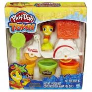 пластилина Play-Doh Город 'Транспортные средства' - Скутер (доставка пиццы) Бишкек и Ош купить в магазине игрушек LEMUR.KG доставка по всему Кыргызстану