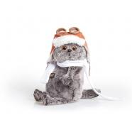 Мягкая игрушка Кот Басик в шлеме и шарфе Бишкек и Ош купить в магазине игрушек LEMUR.KG доставка по всему Кыргызстану