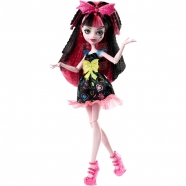 Monster High Дракулаура из серии 'Электризованные' Бишкек и Ош купить в магазине игрушек LEMUR.KG доставка по всему Кыргызстану