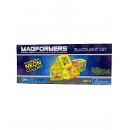 Магнитный конструктор Magformers 28 'С подсветкой Neon' Бишкек и Ош купить в магазине игрушек LEMUR.KG доставка по всему Кыргызстану