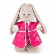 Мягкая игрушка Зайка Ми в платье и розовой дубленке (малыш) Бишкек и Ош купить в магазине игрушек LEMUR.KG доставка по всему Кыргызстану