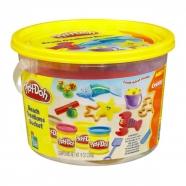 Игровой Play-Doh в ведерке 'Пляж' Бишкек и Ош купить в магазине игрушек LEMUR.KG доставка по всему Кыргызстану