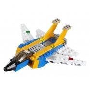 LEGO: Реактивный самолёт Бишкек и Ош купить в магазине игрушек LEMUR.KG доставка по всему Кыргызстану